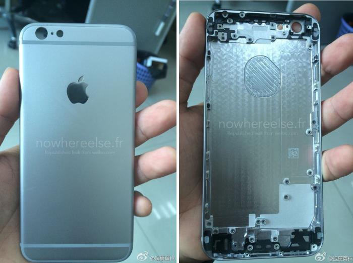 More Images of the 4.7-inch iPhone 6 Back Shell Surfaces