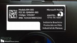Nokia Lumia 830 Turns Up In Brazil