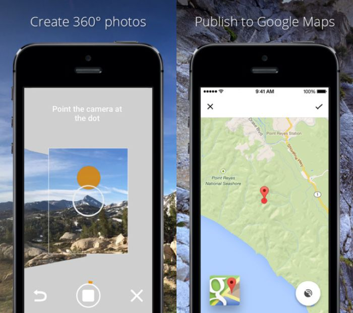photosphere camera app