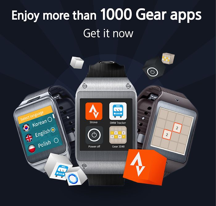 Samsung Gear Smart Watches Now Have More Than 1,000 Apps
