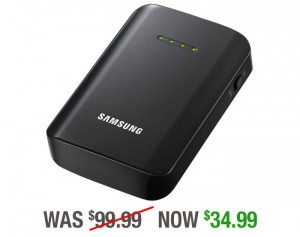 Samsung 9,000 mAh Battery Pack Available At A 60 Percent Discount