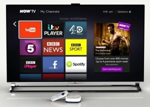 Sky Now TV Box Gets A YouTube App