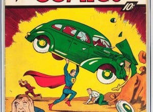 Almost Perfect Copy of First Superman Comic Book Brings Millions