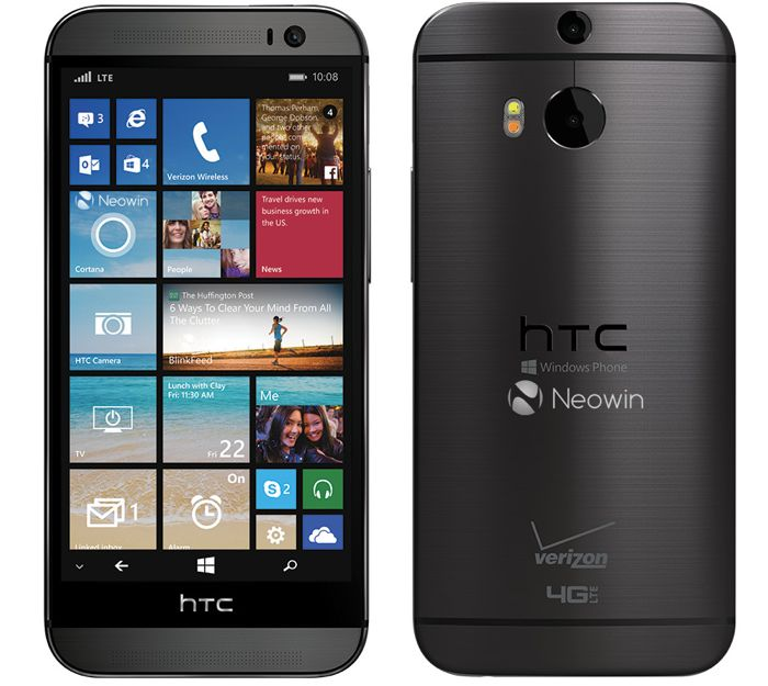 Windows Phone HTC One M8