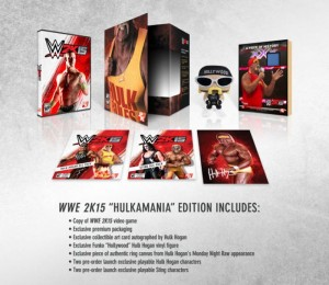 WWE 2K15 Hulkamania Edition For PS4 And Xbox One