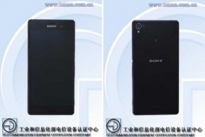 Sony Xperia Z3 Certified in China