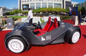 Strati The Worlds First 3D Printed Car Created By Local Motors (video)