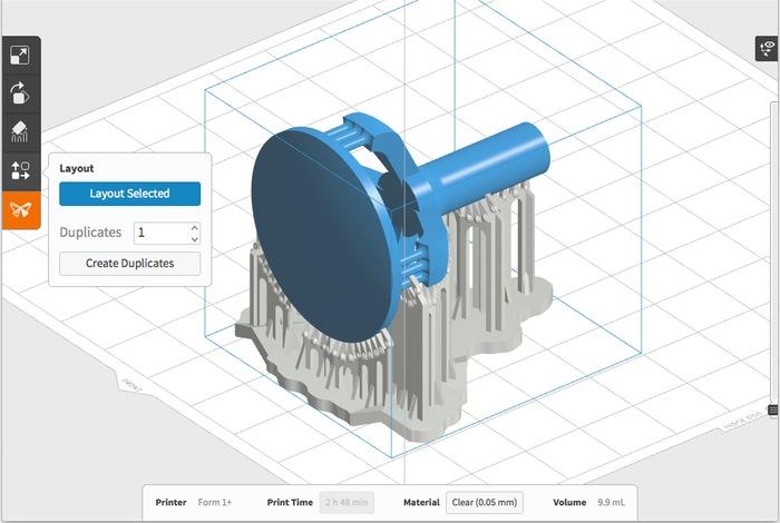 3D Printed Magifying Lens
