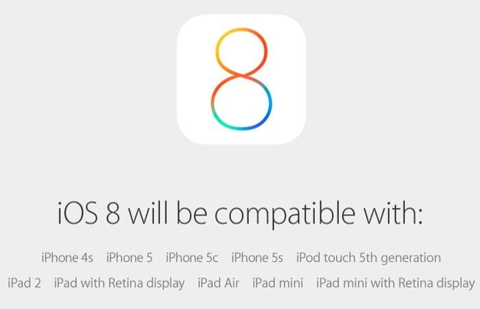 Apple iOS8