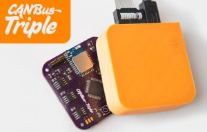 CANBus Triple Car Hacking Platform Unveiled (video)