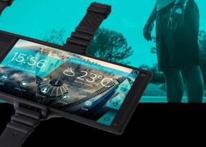 Portal Flexible Smartphone Is Worn On Your Wrist (video)