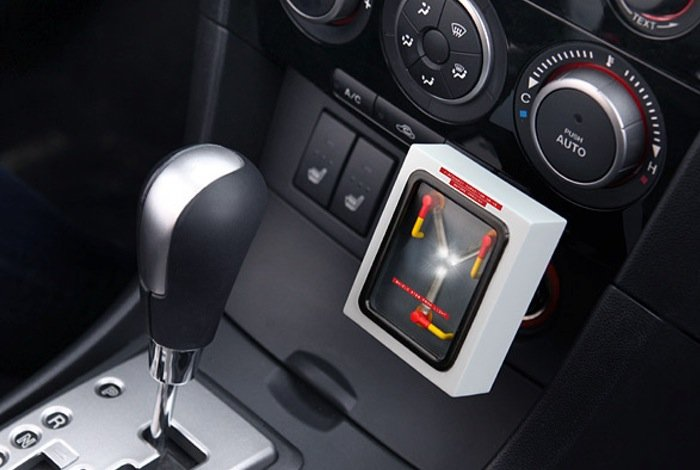 Flux Capacitor USB Charger Lets You Juice Up Your Devices In Style (video)