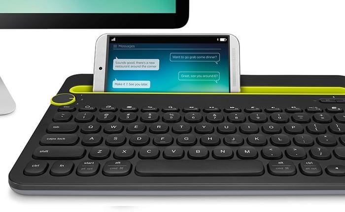 Logitech K480 Keyboard Dock
