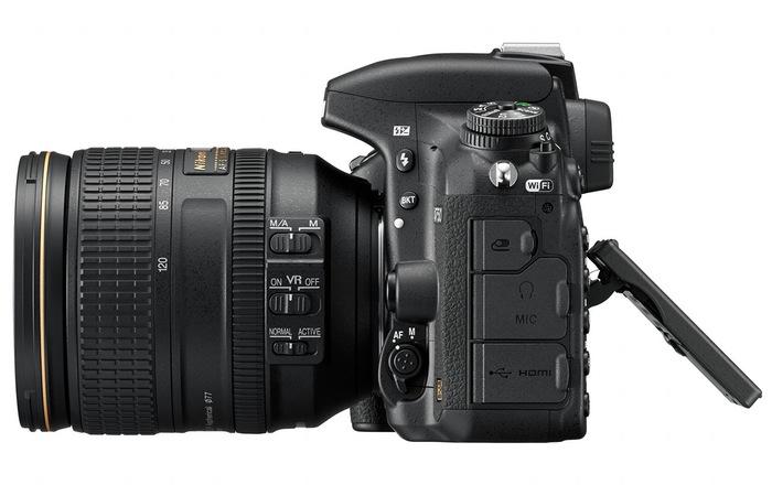 Nikon D750-tilt
