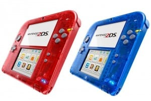 Nintendo 2DS Transparent Red and Blue Designs Unveiled