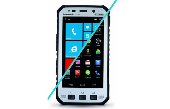 Panasonic Toughpad FZ-X1 rugged smartphone
