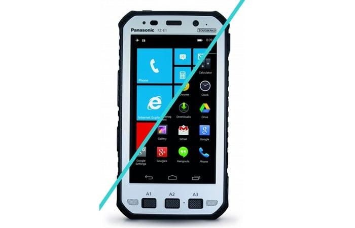 Panasonic Toughpad FZ-X1 rugged smartphone