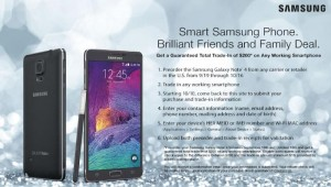 Samsung Offers $200 Trade-in For Any Working Smartphone With Galaxy Note 4 Pre-order