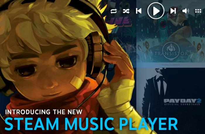 Steam Music Player