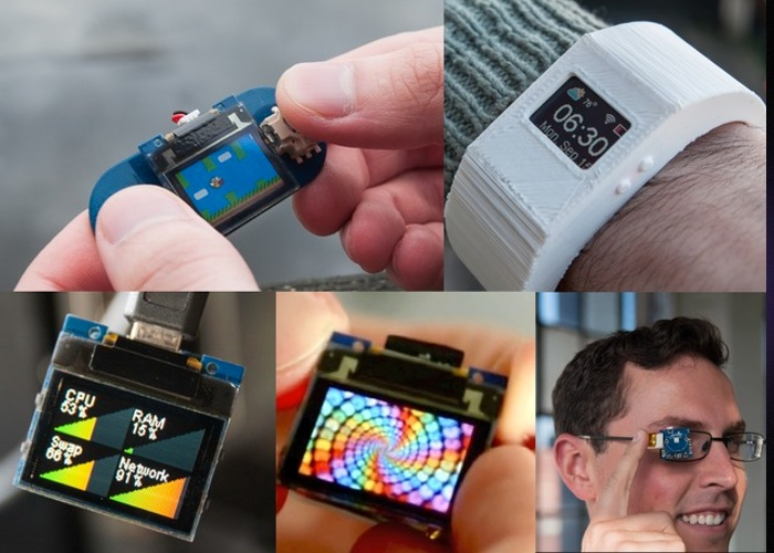 TinyScreen Color Display Allows You To Create Your Own Smartwatch And More (video)