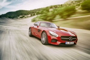 Mercedes AMG GT In Action (Video)