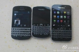 BlackBerry Classic poses for the camera