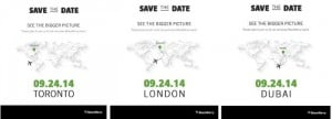 Blackberry Passport Launch Event Scheduled for September 24th