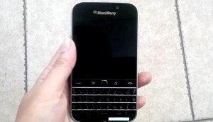 BlackBerry Classic Appears On Video