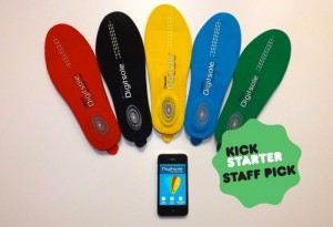 Digitsole Bluetooth Insole Fitness Tracker And Feet Heater (video)