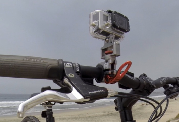 Talon GoPro Action Camera Mount Provides Secure Versatility (video)