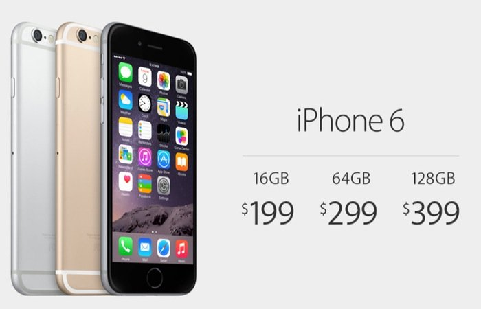 iPhone 6 prices