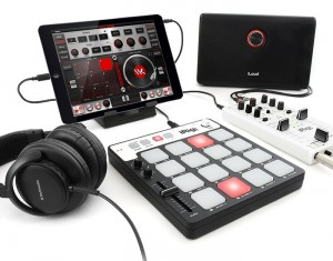 IK Multimedia iRig Pads Offer 16-Pad MIDI And iOS Connectivity