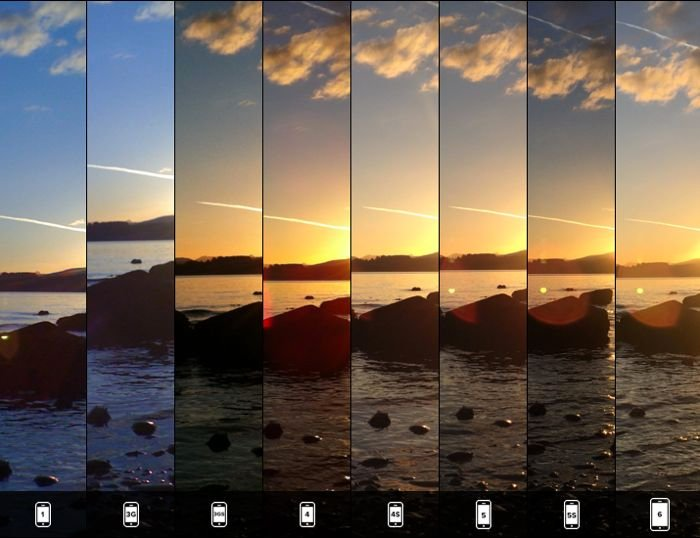 Every IPhone Camera Compared Side By