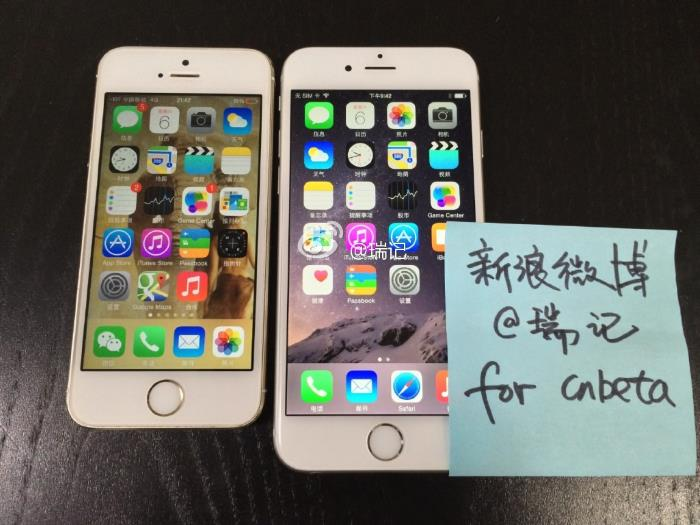 More Live Photos of the iPhone 6 Leaked
