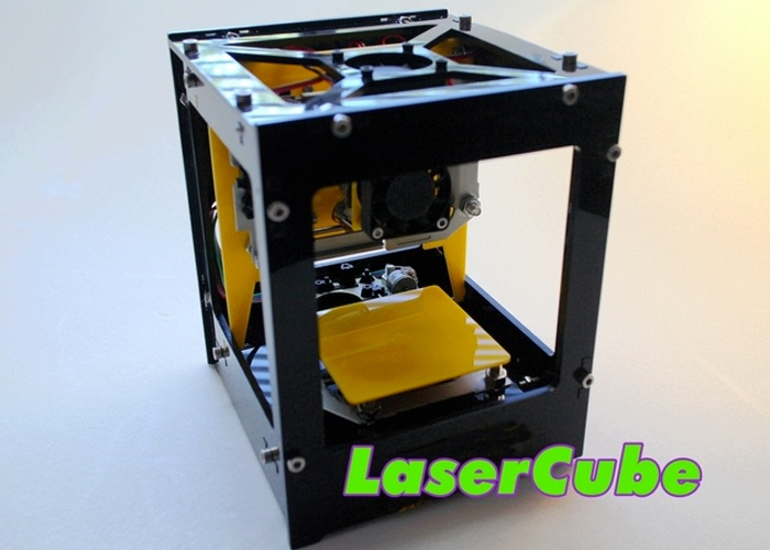 Laser Cube Mini Laser Cutter And Engraver Hits Kickstarter Video