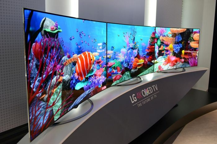 LG's 65 Inch 4K OLED TV