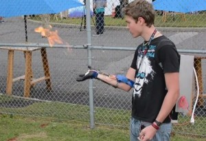 Wrist-Mounted Flamethrower Unveiled At NYC Maker Faire (video)