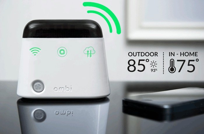 Kickstarter Air Conditioner >> Ambi Climate Infrared Smart Air Conditioner Controller (video)