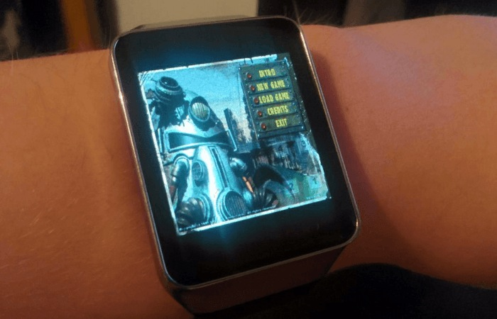 Fallout 1 Game Loaded Onto Android Wear Smartwatch (video)