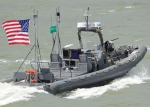 US Navy Demonstrates New Robotic Autonomous Swarm Boats (video)