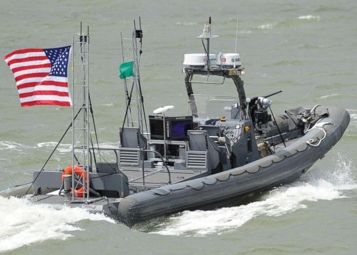 Autonomous Swarm Boat