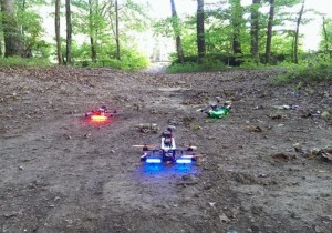 Real Life Drone Racing Star Wars Style (video)