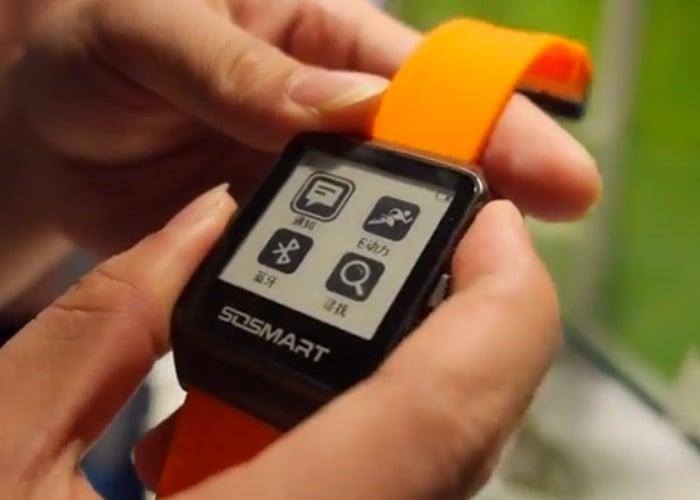 E InK Smartwatch
