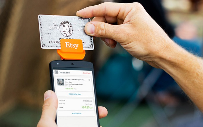 Etsy Credit Card Reader