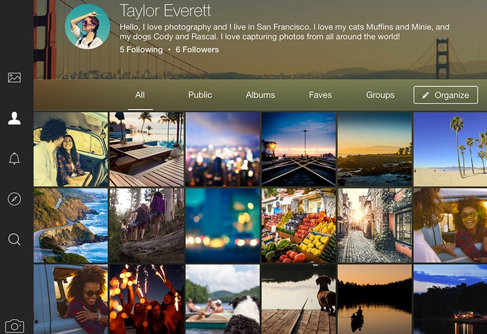 Flickr For iPad