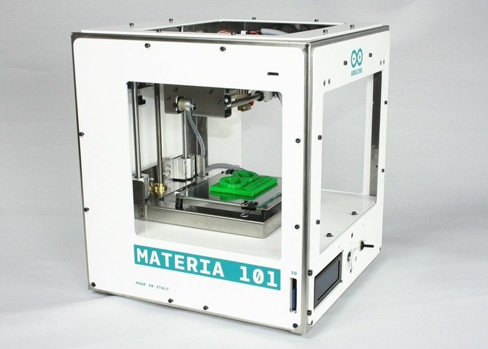 Materia d printer announced by arduino and sharebot