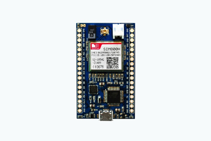 Microlink tiny arduino development board offering gsm usb