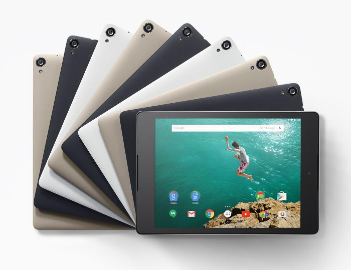 Google Nexus 9 Gets Official: 8.9-inch Display, Tegra K1 Processor and More