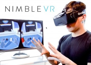 Nimble Sense Virtual Reality Depth Sensor Optimised For The Oculus Rift (video)