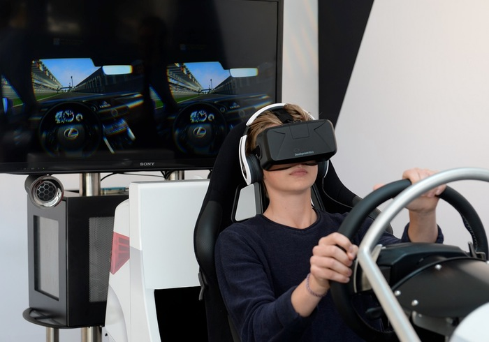 Lexus Create Oculus Rift Powered Test Drive Simulator For